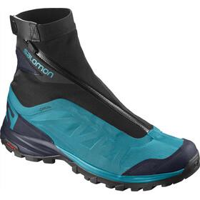 Salomon Outpath Pro GTX Hiking Shoes Women Blue Bird/Navy Blazer/Black